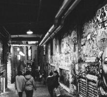 Seattle, Post Alley murals Sticker