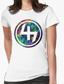 47 LSD ACID OIL CIRCLE  Womens Fitted T-Shirt