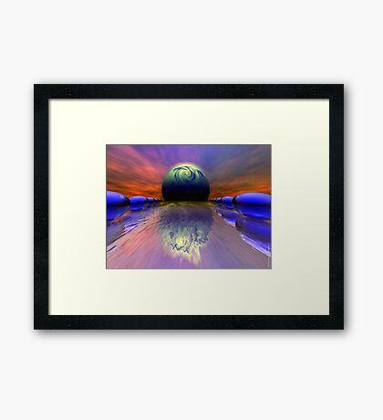 Landing Zone Framed Print