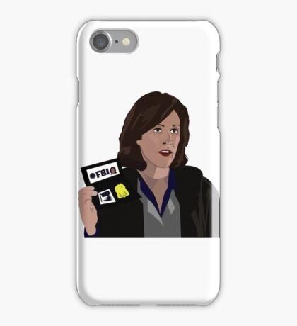 Agent Monica reyes FBI iPhone Case/Skin