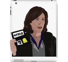 Agent Monica reyes FBI iPad Case/Skin