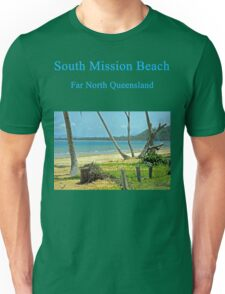 Tropical Tranquility at South Mission Beach Unisex T-Shirt