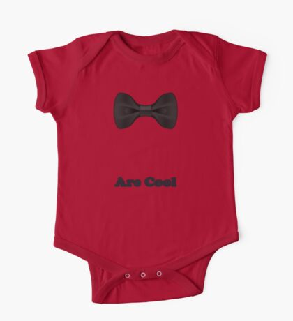 Baby Bow Tie - Jumpsuit - T-Shirt - Are Cool - Clothing Sticker One Piece - Short Sleeve