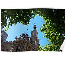Town Hall,Sydney,Australia Poster