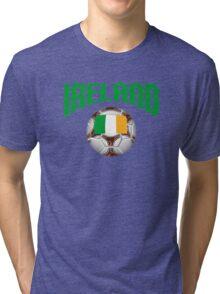 Ireland Soccer Tri-blend T-Shirt