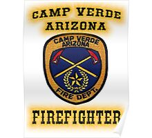 Camp Verde Fire Poster
