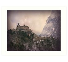 Hohenwerfen Burg, Austria Art Print