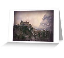Hohenwerfen Burg, Austria Greeting Card