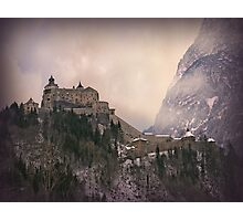 Hohenwerfen Burg, Austria Photographic Print