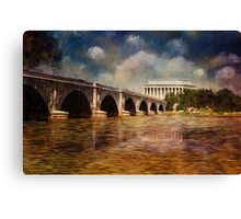 Leading To Lincoln Canvas Print