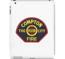 Compton Fire iPad Case/Skin