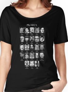 Serial Killer ABC's Women's Relaxed Fit T-Shirt