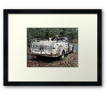 Searching for the Steam Donkey # 20 20101227 Framed Print