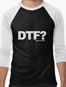 DTF? Men's Baseball ¾ T-Shirt