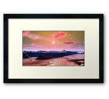 """""""DUNES OF HAPPINESS"""" Framed Print"""