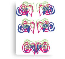 Psychedelic Graffiti Ram - progression Canvas Print