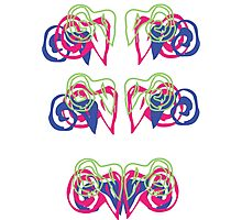 Psychedelic Graffiti Ram - progression Photographic Print