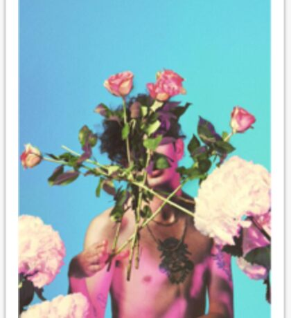 Matty Floral  Sticker