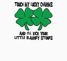 Touch My Lucky Charms Womens Fitted T-Shirt
