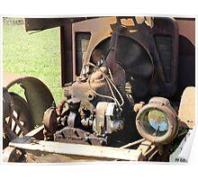 Engine Running, 1916 International Truck Poster