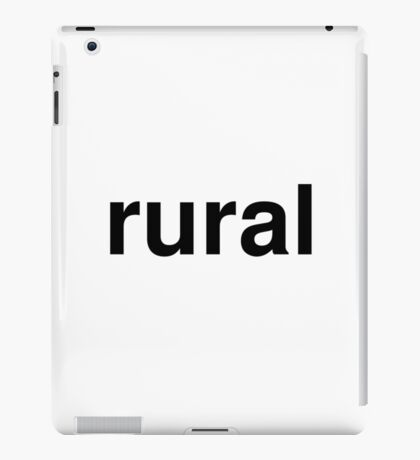 rural iPad Case/Skin