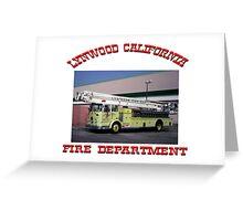 Lynwood Fire Greeting Card