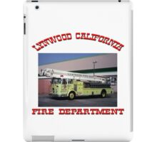 Lynwood Fire iPad Case/Skin