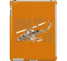 Bell Hueycobra AH 1S helicopter iPad Case/Skin