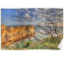 The Razorback - The Great Ocean Road, Victoria Australia - The HDR Experience Poster