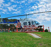 Rescue Chopper by Dave Lucas