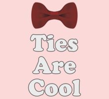 Cool Baby Onesie PJ Jumpsuit - Bow Ties - T-Shirt Greeting Card One Piece - Long Sleeve