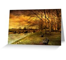 Edisford Bridge. Greeting Card