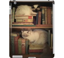 Library Cats iPad Case/Skin