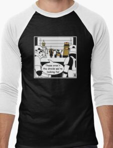 Not the droids... Men's Baseball ¾ T-Shirt