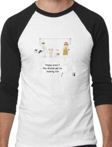Not the droids... Men's Baseball ¾ T-Shirt
