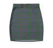 00071 Wood Clan/Family Tartan  Mini Skirt