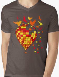 baloon Mens V-Neck T-Shirt