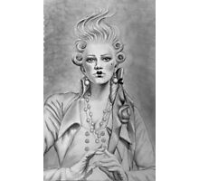 Rococo Babe Photographic Print