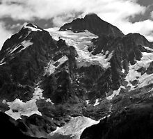 glacier on mt shuksan by dedmanshootn