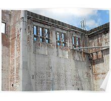 textural Brisbane Powerhouse Poster