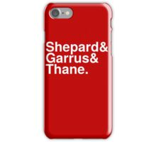 Mass Effect Names - 5 iPhone Case/Skin