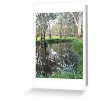 Reflections at Dartmoor Greeting Card