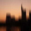 Frankfurt Skyline by Marlies Odehnal