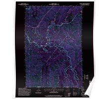 USGS Topo Map Washington Godman Spring 241339 1995 24000 Inverted Poster