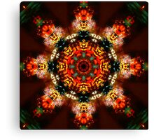 Spin and Win Kaleidoscope Canvas Print