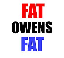 Fat Owens Fat (Kevin Owens diss) 2 Photographic Print