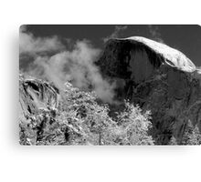 Half Dome in Snow Canvas Print