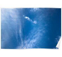 Ocean in the sky Poster