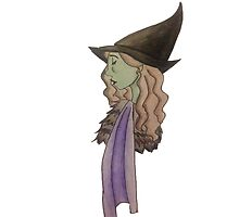 Elphaba, the Wicked Witch by bbmnpt