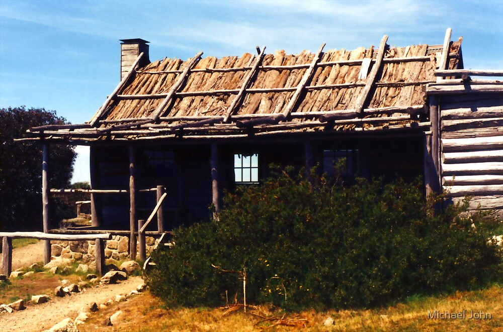 Craigs Hut, Mount Stirling by Michael John